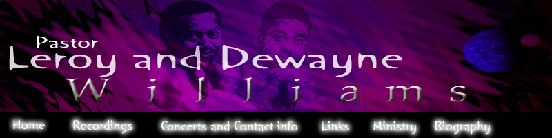 Leroy and Dewayne Williams graphic header